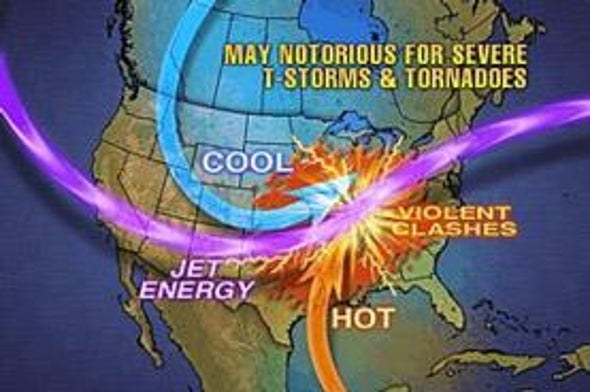 Wild April Weather to be Followed by Wicked May