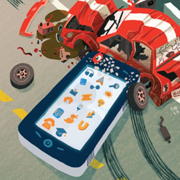 Hands-Free Texting Is No Safer to Use While Driving