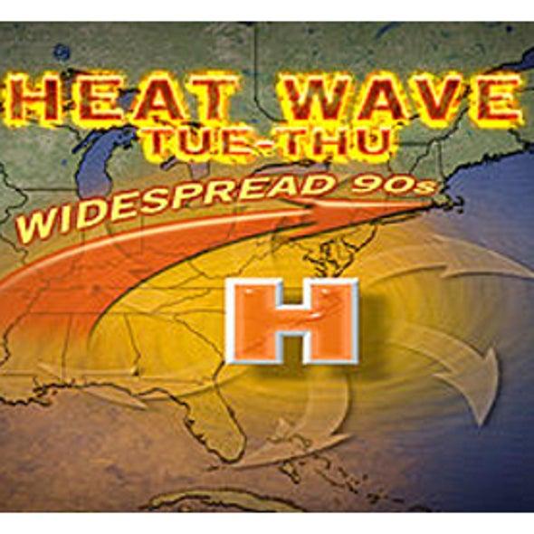 Dangerous Heat Blast Heads for Eastern U.S.
