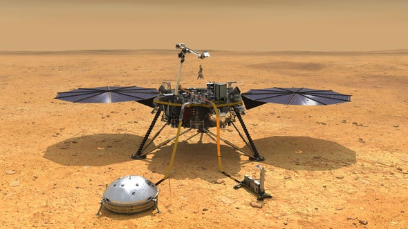 NASA's InSight Mars Lander Touches Down Next Week