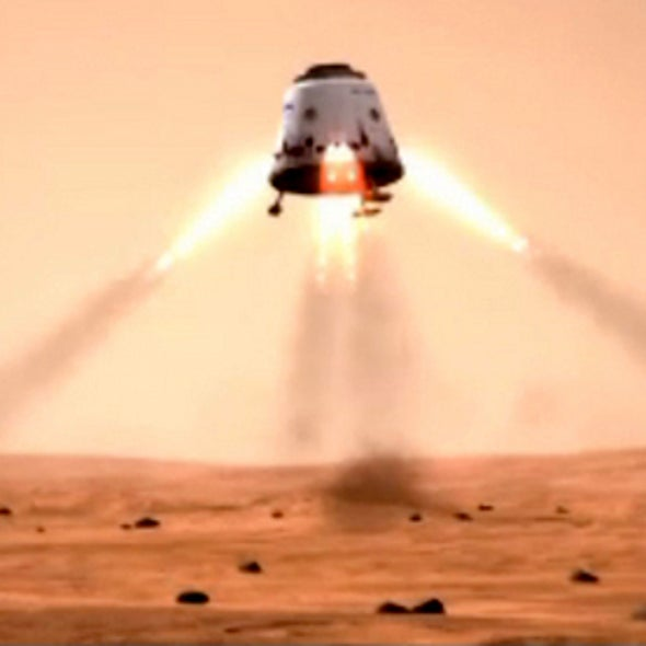 Martian Colony Designed by Private Space Flight Company