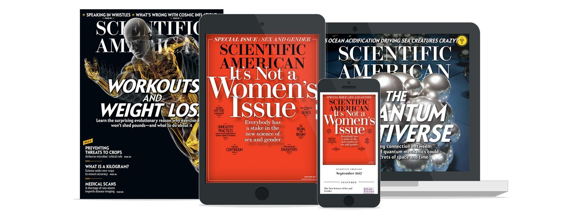 Scientific American Print + Digital Subscription SEM Offer
