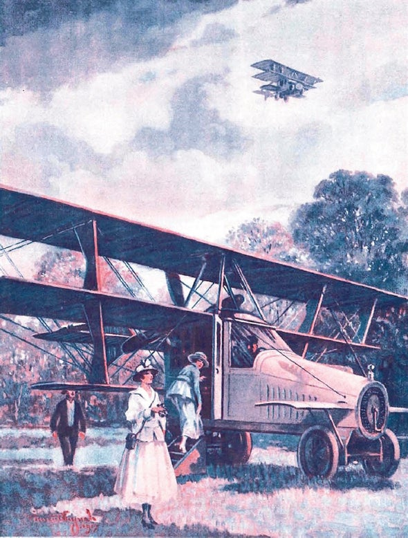 A Century Ago: Designing and Selling the Flying Car