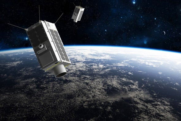 Private Space Race Targets Greenhouse Gas Emitters