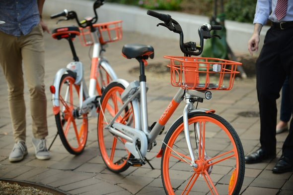 Washington D.C. Tackles Emissions with Dockless Bikes