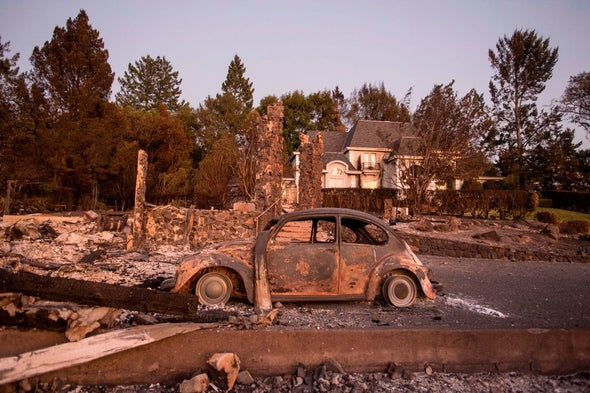 As Fires Choke Utility, the Question of Who Pays for Warming Emerges