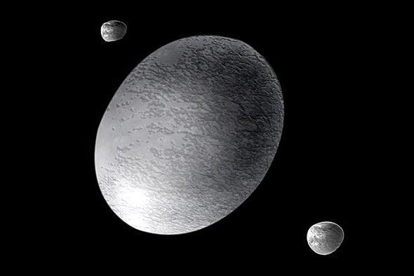 Bizarre Dwarf Planet Haumea Has Rings