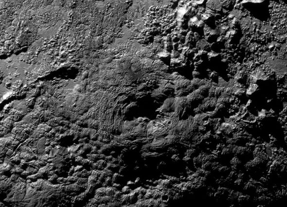 Ice Volcanoes Could Be on Pluto