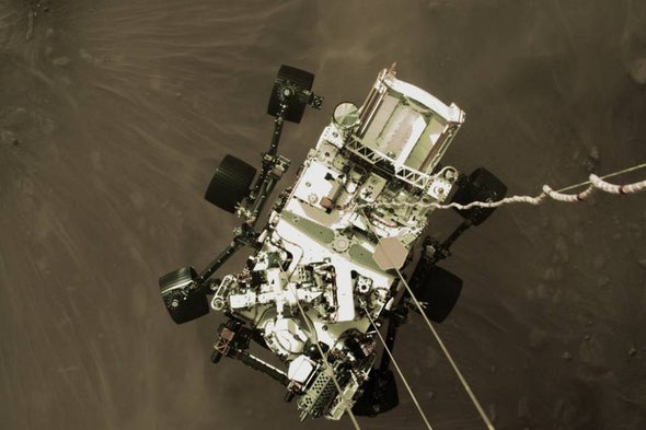 Experience Seven Minutes of Terror in New Perseverance Mars Rover Landing Video