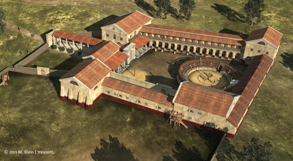 Gladiator School Dating to 2nd Century A.D. Discovered in Austria