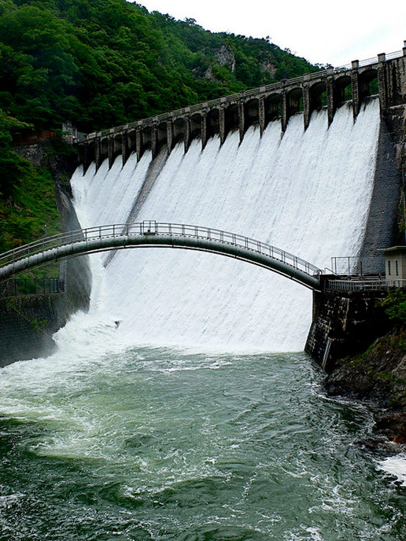 Methane Emissions May Swell from behind Dams
