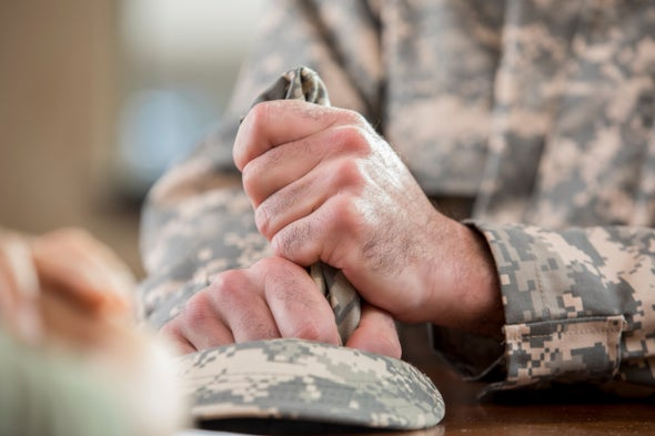 A Blood Test Might One Day Mass-Screen Military Personnel for PTSD