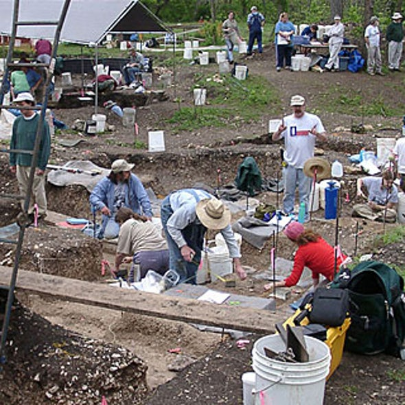 Texas Archaeological Dig Challenges Assumptions about First Americans