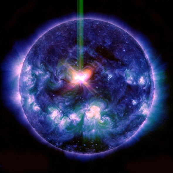 Strong Solar Flares This Week a Rare Double Whammy, Scientists Say