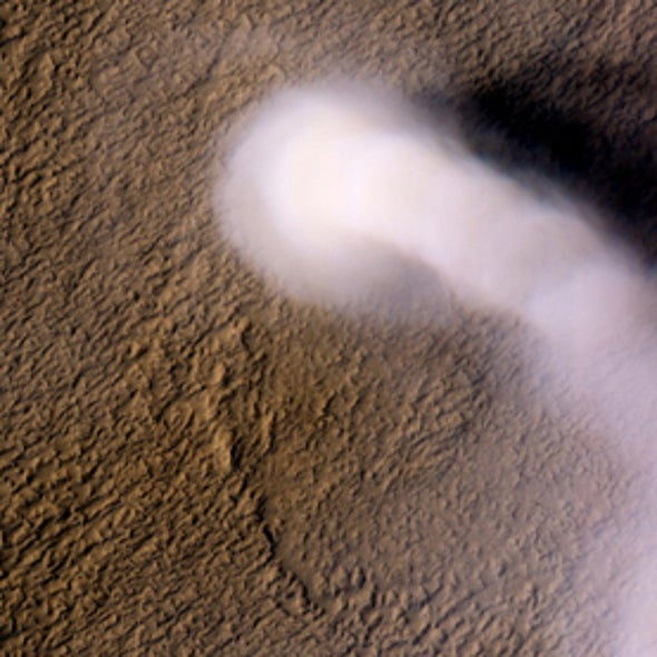 Swiss Cheese and Dust Devils: 7 High-Resolution Shots of Surface Activity on Mars [Slide Show]