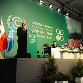 Warsaw Talks to Thrash Out U.N. Climate Roadmap