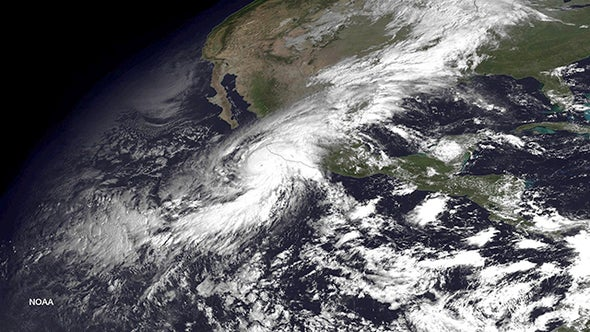 Meteorological history of Hurricane Patricia