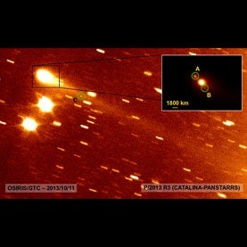 Astronomers Puzzle Over Newfound Asteroid That Acts Like a Comet [Video]