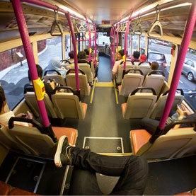 Singapore Bus Study Reveals Hidden Social Networks