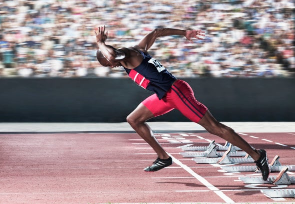 How Elite Sprinters Run So Fast [Video]