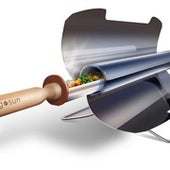 SUSTAINABILITY: SOLAR POWERED GRILL