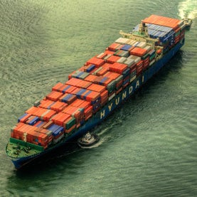Slowing Cargo Ships More Than Halves Pollution near Ports