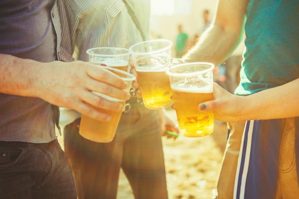 Drinking Causes Gut Microbe Imbalance Linked to Liver Disease