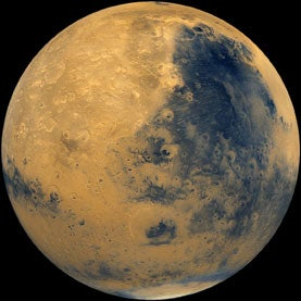 New Data Suggest Mars Once Held an Ocean