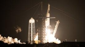 NASA Celebrates Crew-1 Arrival at Space Station