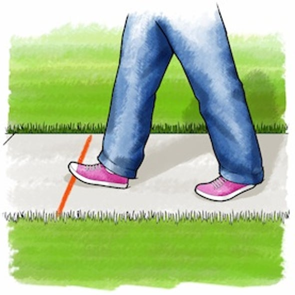 Stepping Science: Estimating Someone's Height from Their Walk