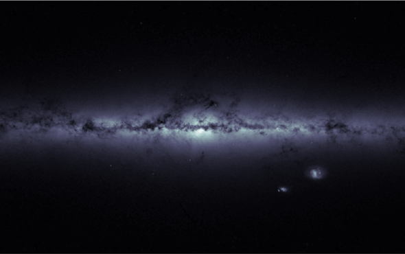 Stellar Effort: Chart of the Milky Way Includes More Than 1 Billion Stars