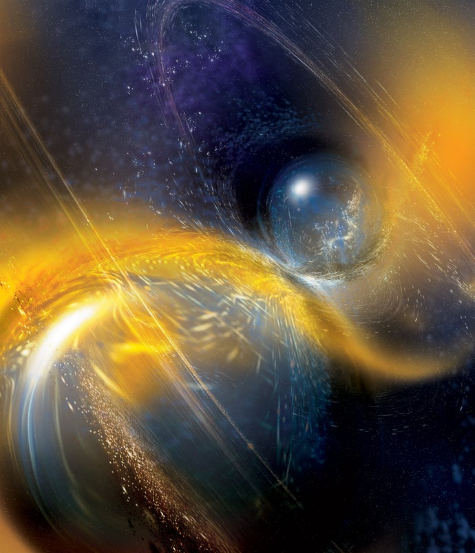 Gravitational-Wave Discovery Hints at Another Spectacular Neutron-Star Crash