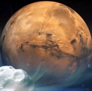 The Best Seat in the House for Sunday's Comet Flyby Is Mars