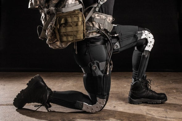Pentagon Gambles on Brain Implants, Bionic Limbs and Combat Exoskeletons