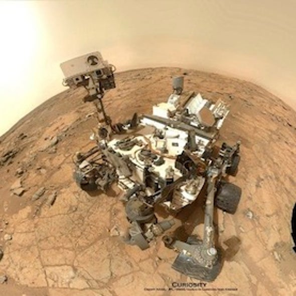 """Radiation on Mars """"Manageable"""" for Manned Mission, Curiosity Rover Reveals"""