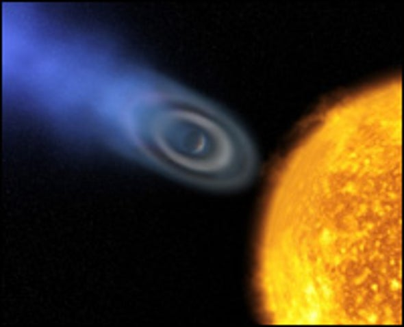 Extrasolar Planet's Missing Water Discovered?