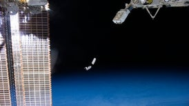 Sweating the Small Stuff: CubeSats Swarm Earth Orbit