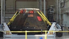NASA Orion Space Capsule Back in Florida After Test Flight