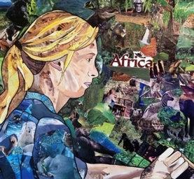 Jane Goodall Darwin Day Portrait Project 2013, Hayley Gillespie