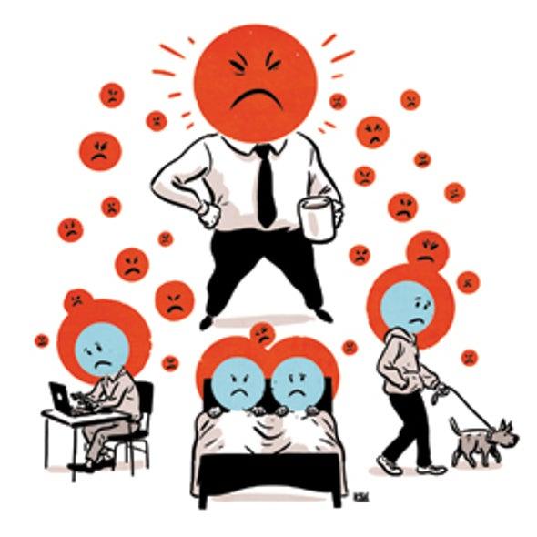 Workplace Rudeness Has a Ripple Effect