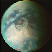 Tidal Evidence Suggests Water Sloshes Beneath Titan's Icy Crust
