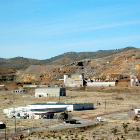 Mt Pass rare earth mine