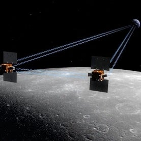 NASA's Twin Moon Probes Set for Lunar Arrival This Weekend