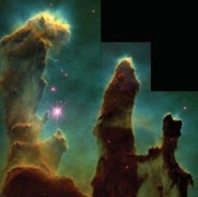 How the Iconic Pillars of Creation Arose