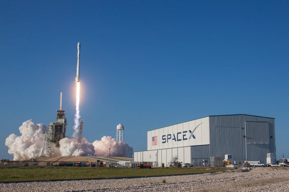 Used SpaceX Rocket Launches Satellite, Then Lands in Historic First Reflight