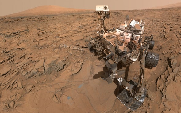 """Curiosity Rover Stable after """"Safe Mode"""" Glitch"""