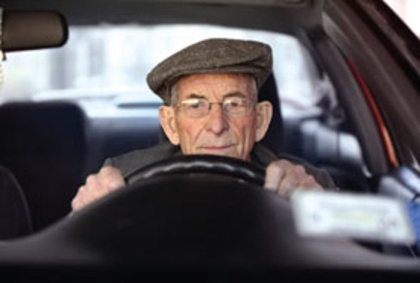 Bad Habits May Cause Older Drivers' Mistakes