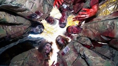 Can You Escape Zombies If You Smell Like Death?