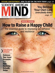 Scientific American Mind Volume 25, Issue 2