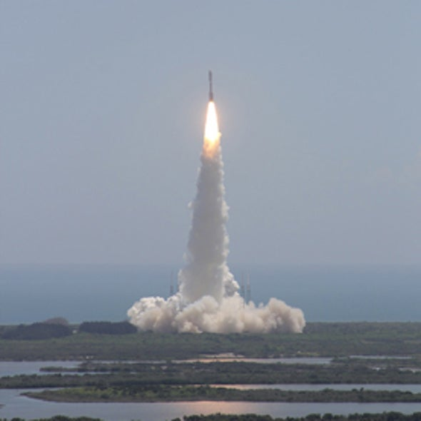 Journey to a Giant World: Launch Shots of the Juno Mission to Jupiter [Slide Show]